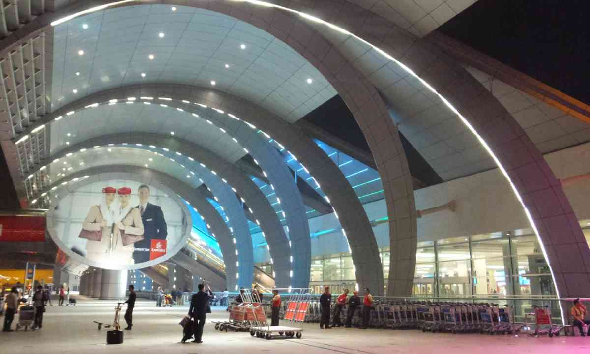 Dubai Airport, Terminal 3 (Shutterstock)