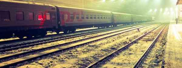 Russian trains station (Matthew Woodward)