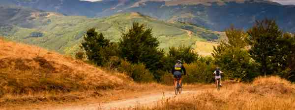 Biking through Bulgaria (Shutterstock: see credit below)