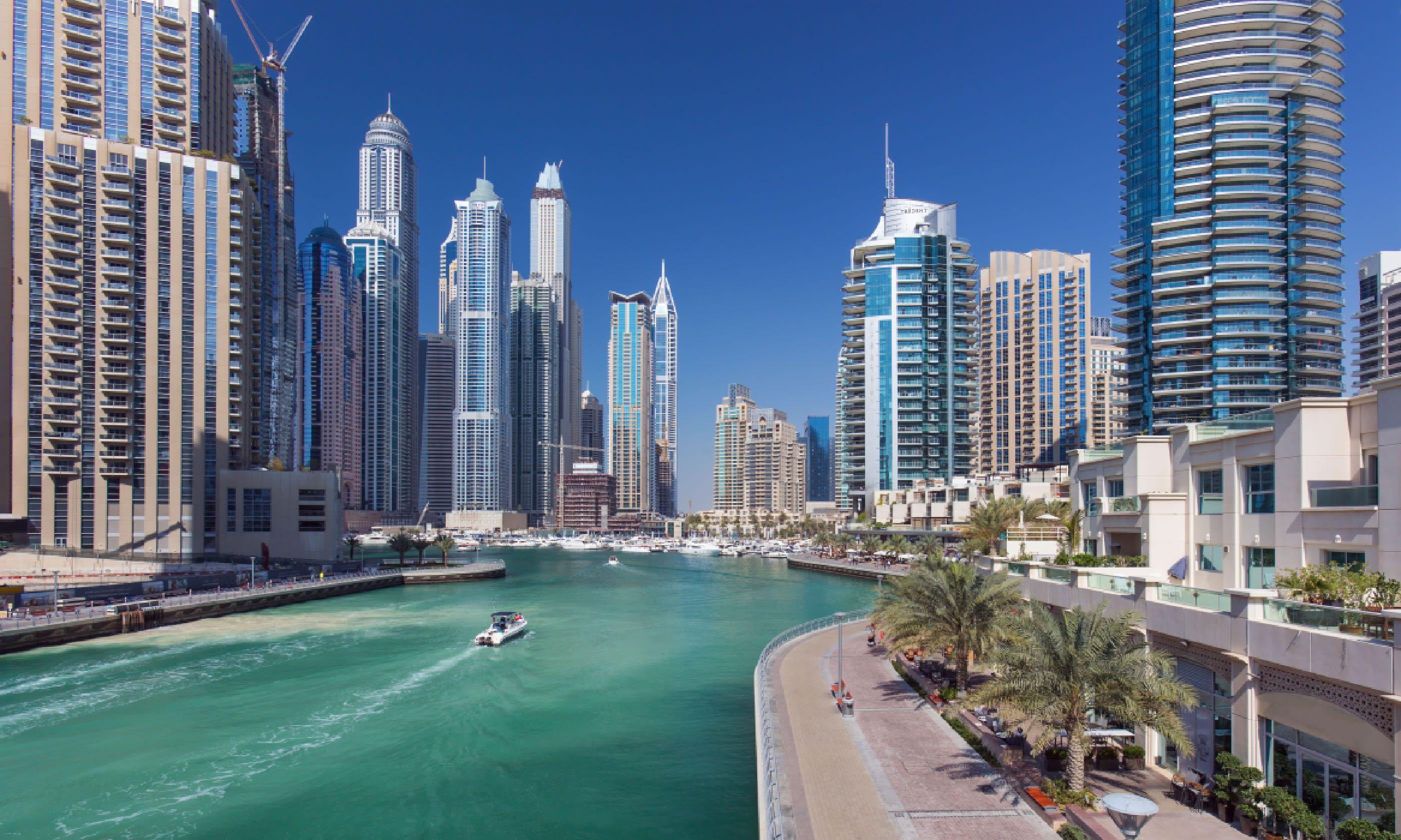 Dubai Marina (Shutterstock)