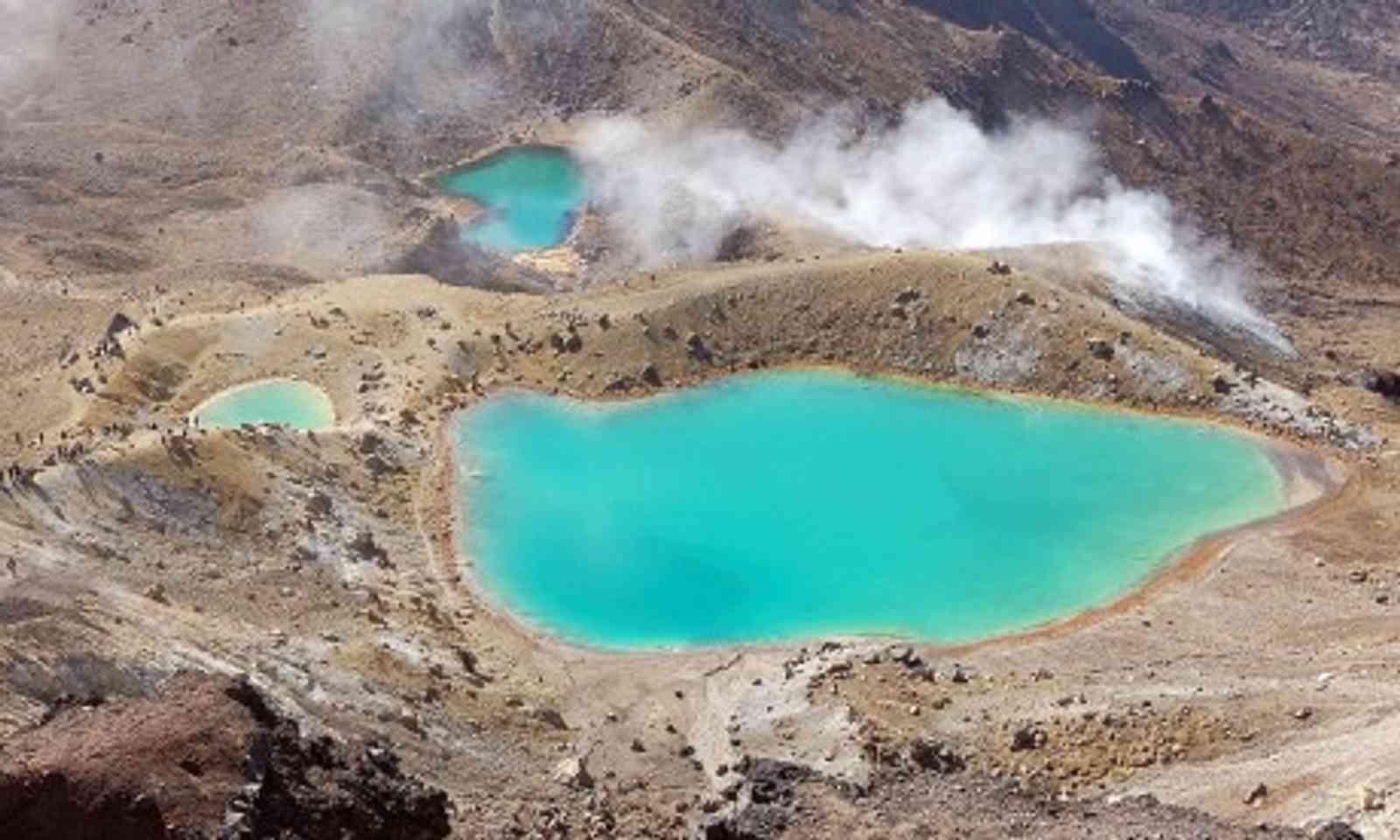 Sulphur pools (Wanderlust)