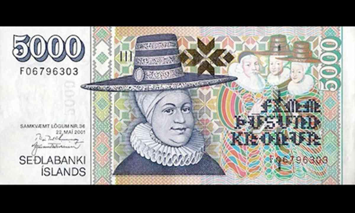 Hat money Iceland