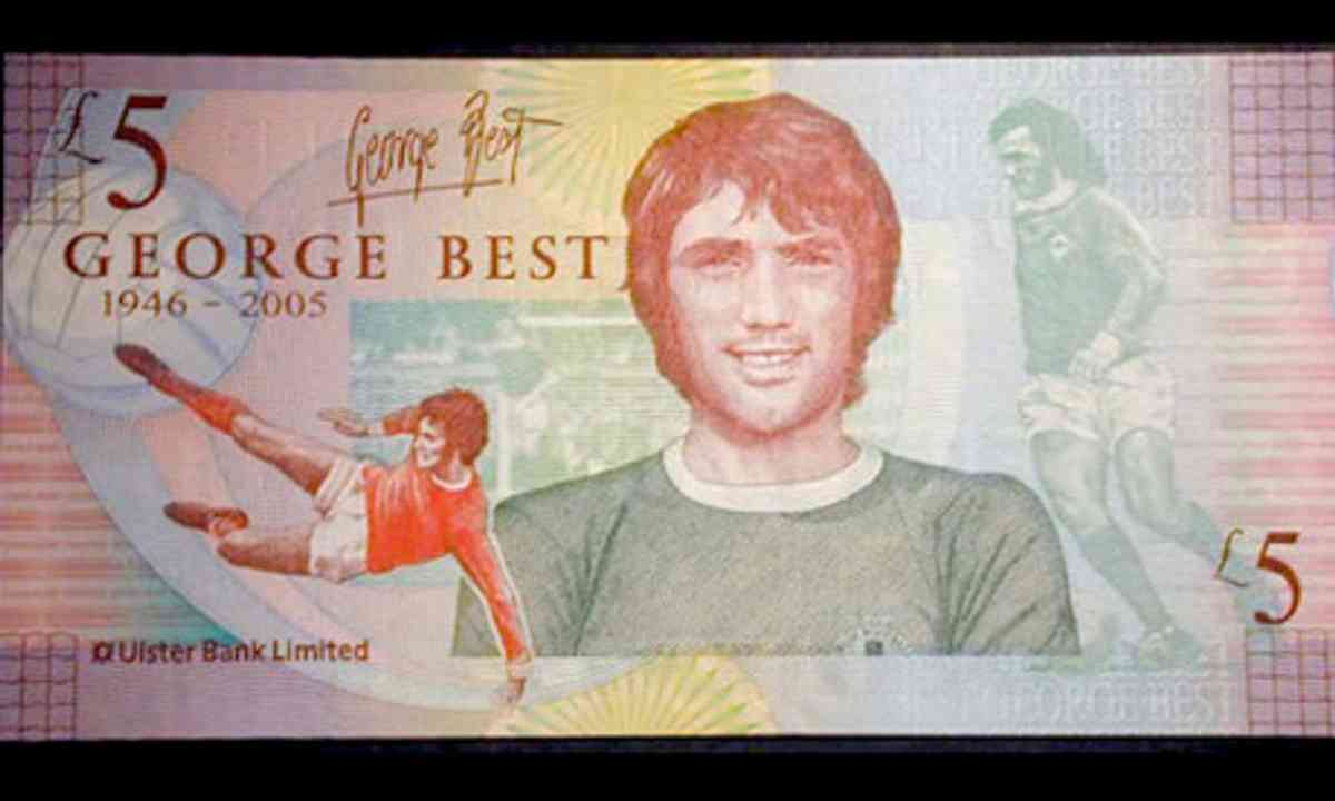 George Best. Pounds