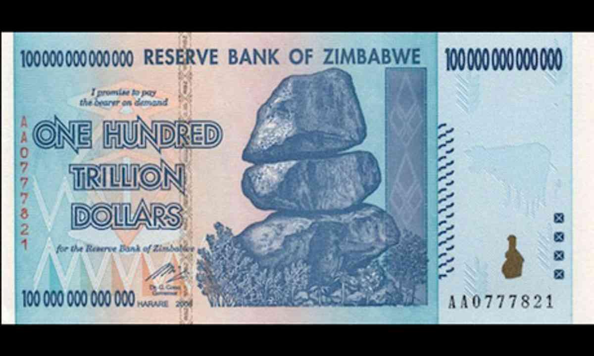 Zimbabwe Dolars