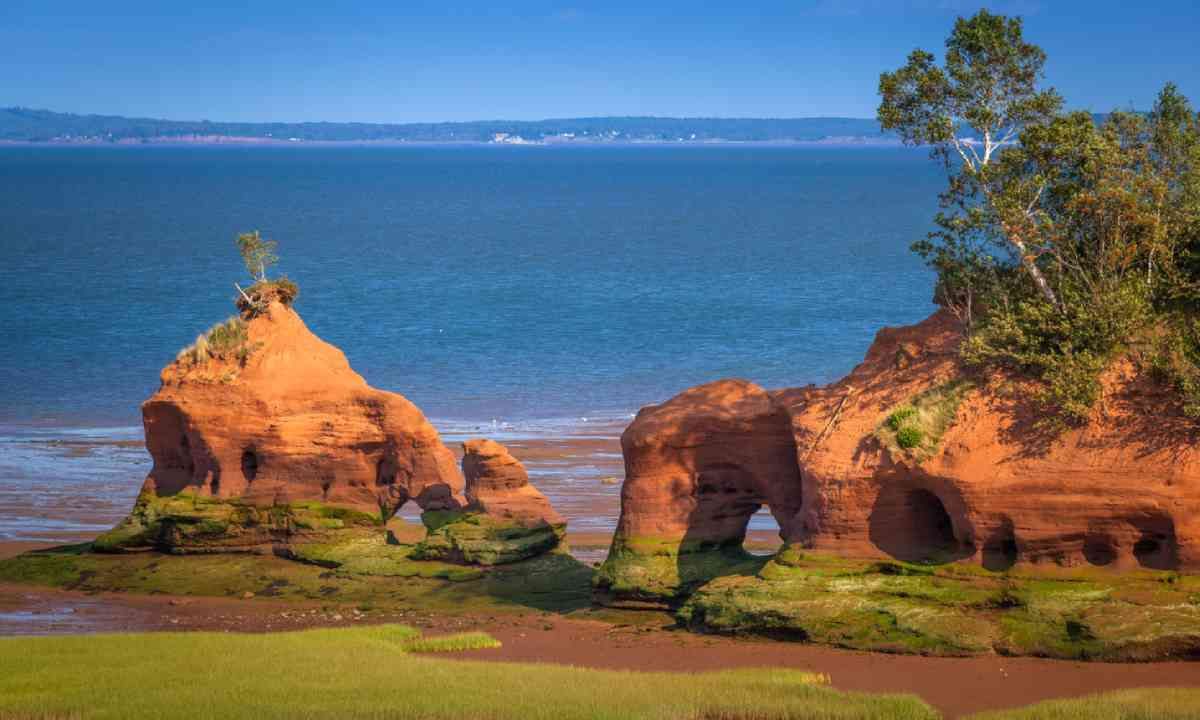 Bay of Fundy, Nova Scotia (Shutterstock)