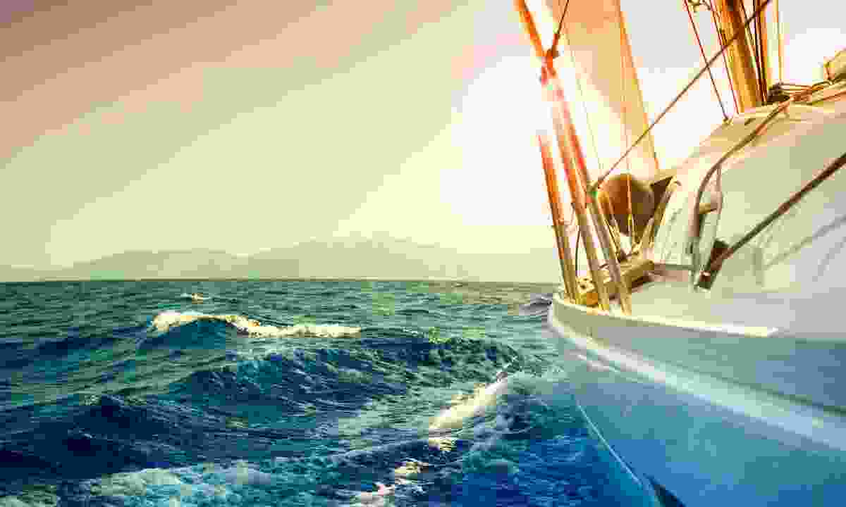 Sailing into the sunset. (Shutterstock)