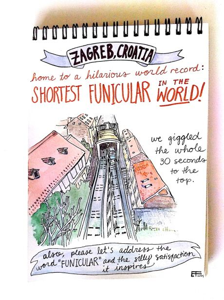 Croatian Funicular (Emma Fick)