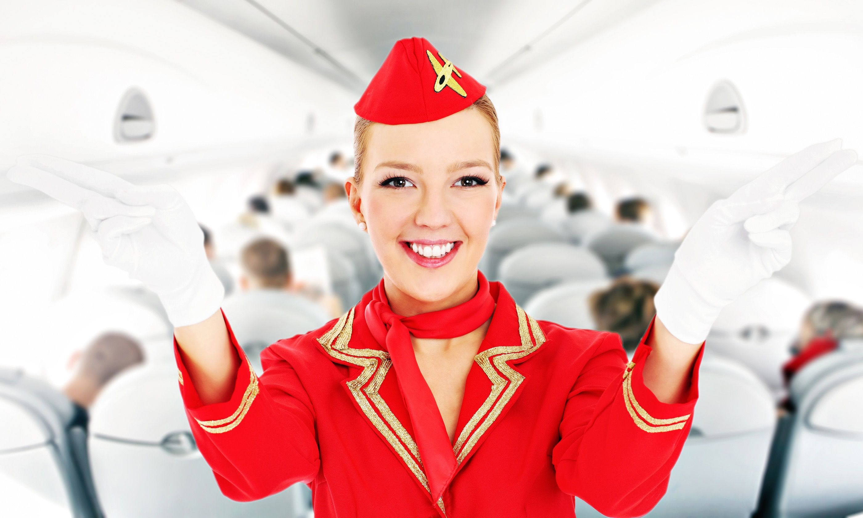 Flight Attendants are onboard to help (Dreamstime)