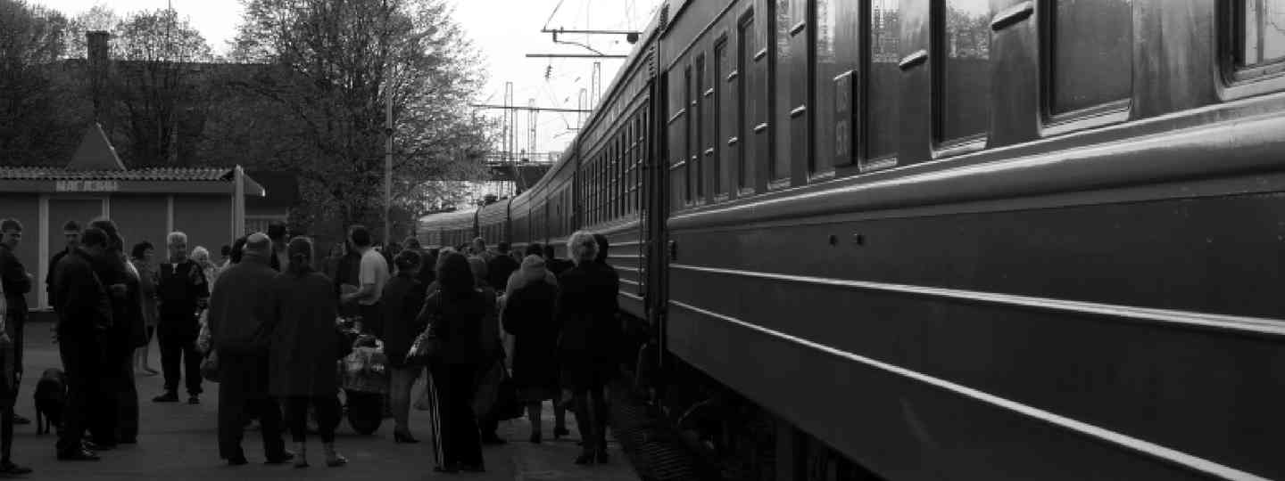 The train to Karelia (Luke Darracott)