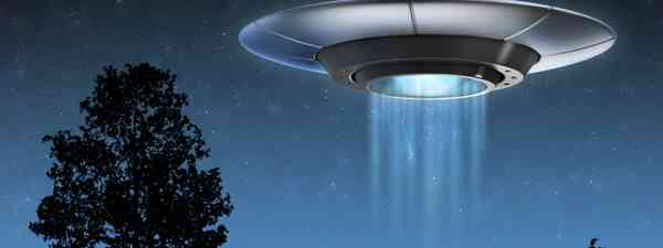 A UFO hovering (Shutterstock.com. See main credit below)
