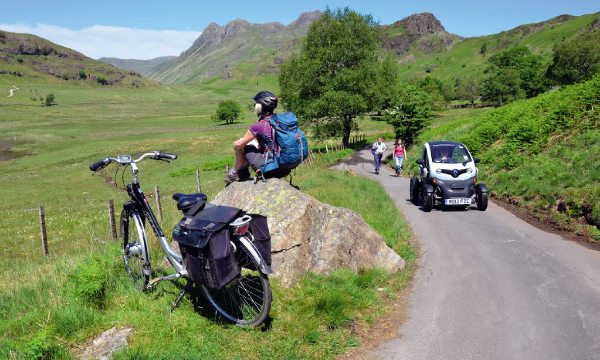 Exploring the Lake District by electric bike