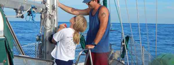 Taking control on the high seas (Aimee Nance)