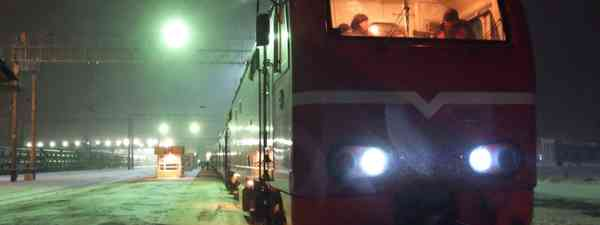 Trans-Siberian at night (Matthew Woodward)