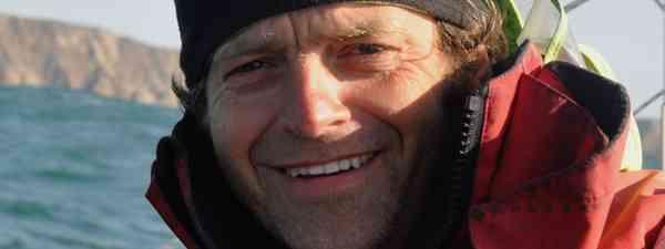 Mick Dawson on the Pacific ocean (Chris Martin)