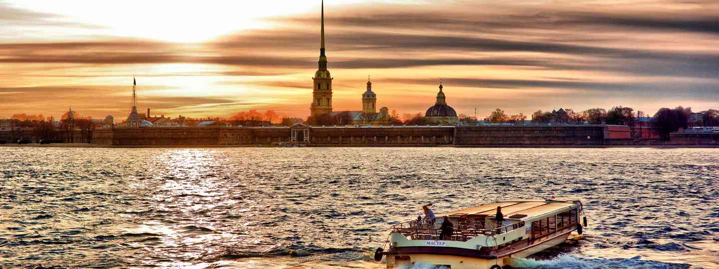 Sunset over St Petersburg (Shutterstock.com. See main credit below)