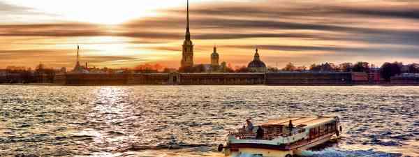 Sunset over St Petersburg (Shutterstock.com. See main credit below)