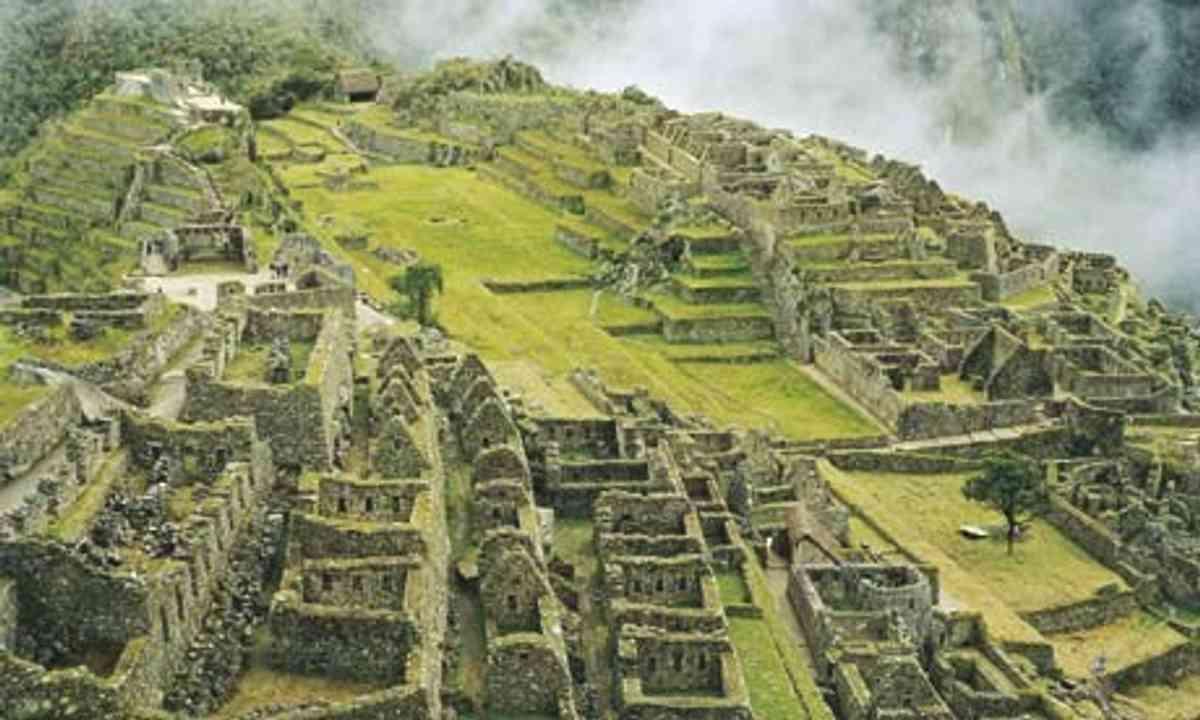 Terraces at Machu Picchu (Wanderlust)