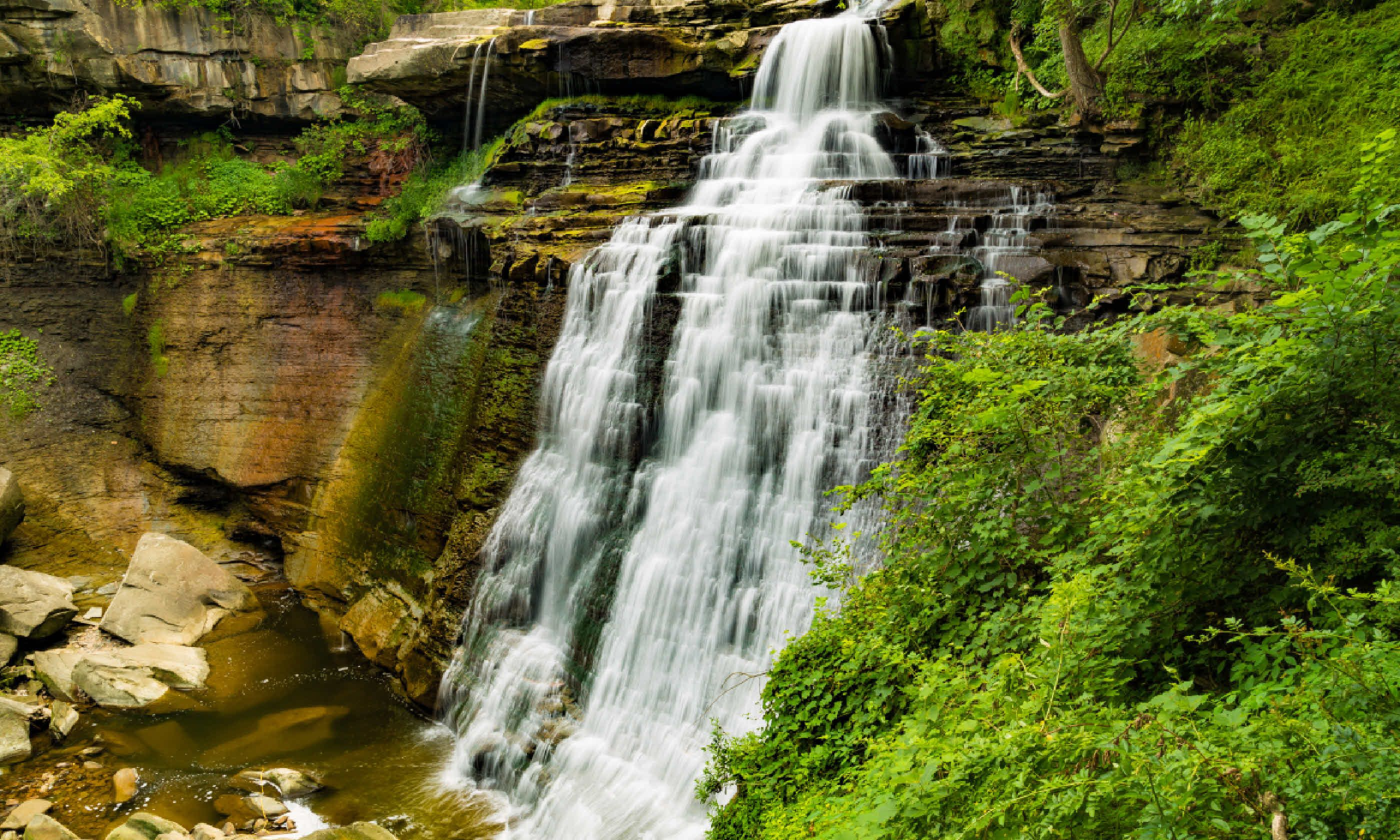 Brandywine Falls in Cuyahoga National Park (Shutterstock)