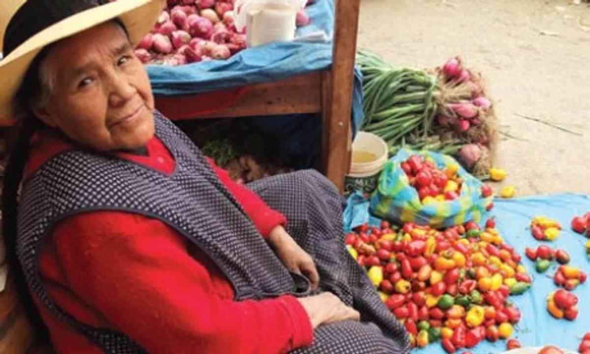 Peruvian lady (Wanderlust)
