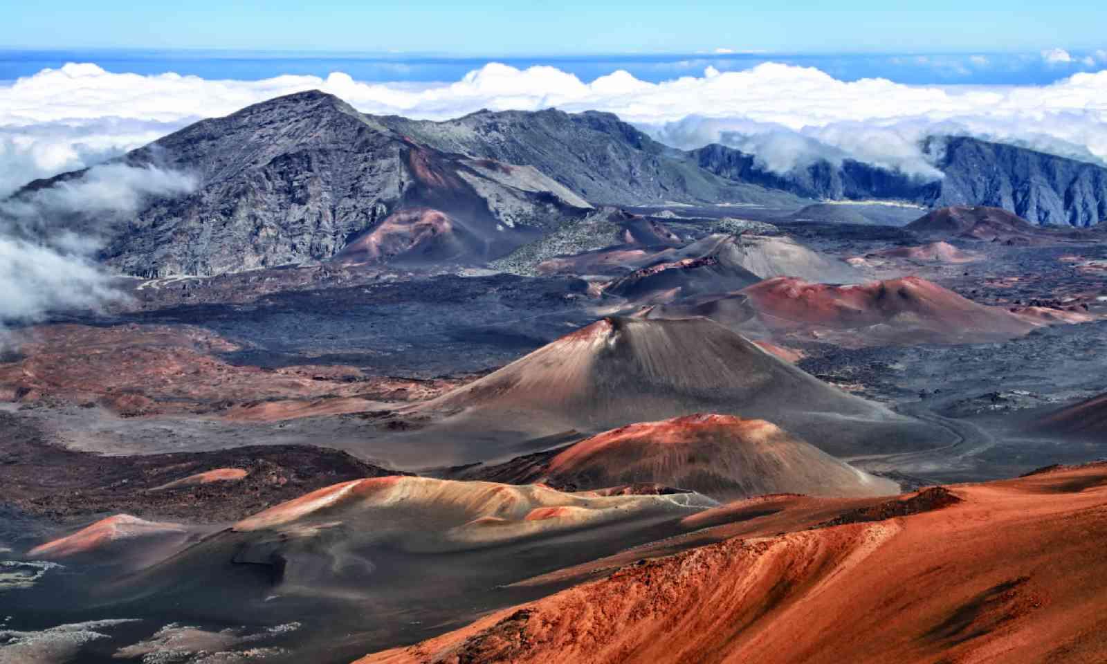 Caldera of the Haleakala volcano (Shutterstock)
