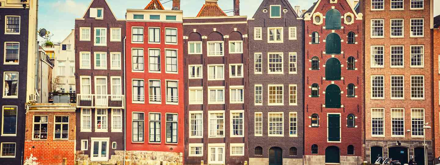 Traditional buildings in Amsterdam (Shutterstock.com. See main credit below)