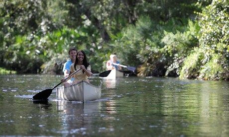 Canoeing in Florida