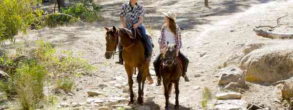 Main image: Horse riding on an Australian farm (Shutterstock.com)