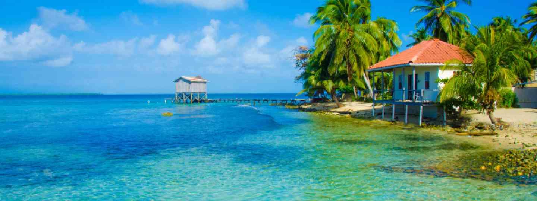 Belize paradise island (Shutterstock: see image below)