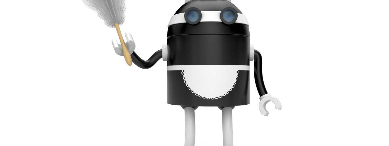 Robotic maid (Shutterstock.com. See main credit below)