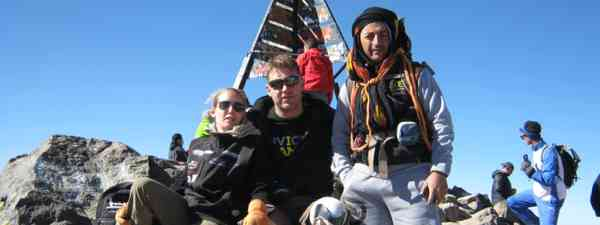 Climbing Mt Toubkal against all odds (Tony Harris/KE Adventure)
