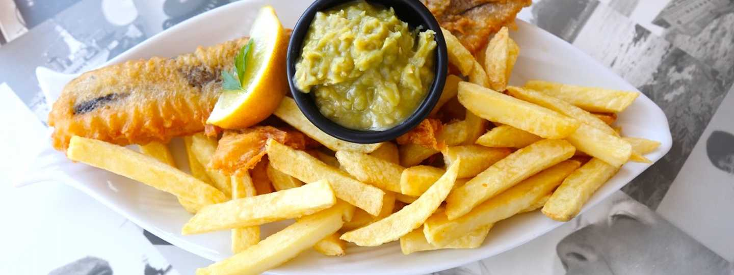 Harbour Lights' fish and chips (Graeme Green)