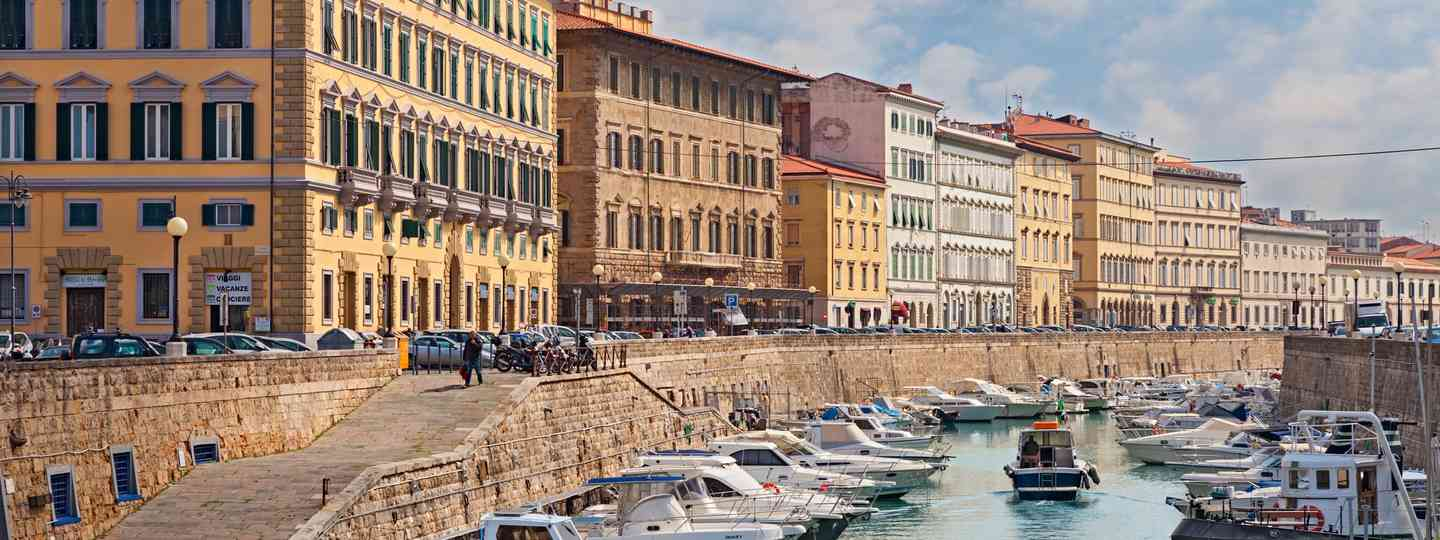 The canals of Livorno (Shutterstock.com. See main credit below)