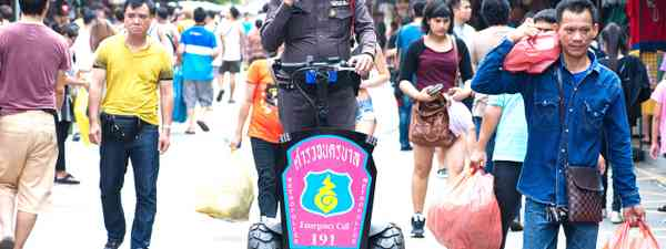 Thai policeman looking for trouble (Shutterstock.com. See main credit below)