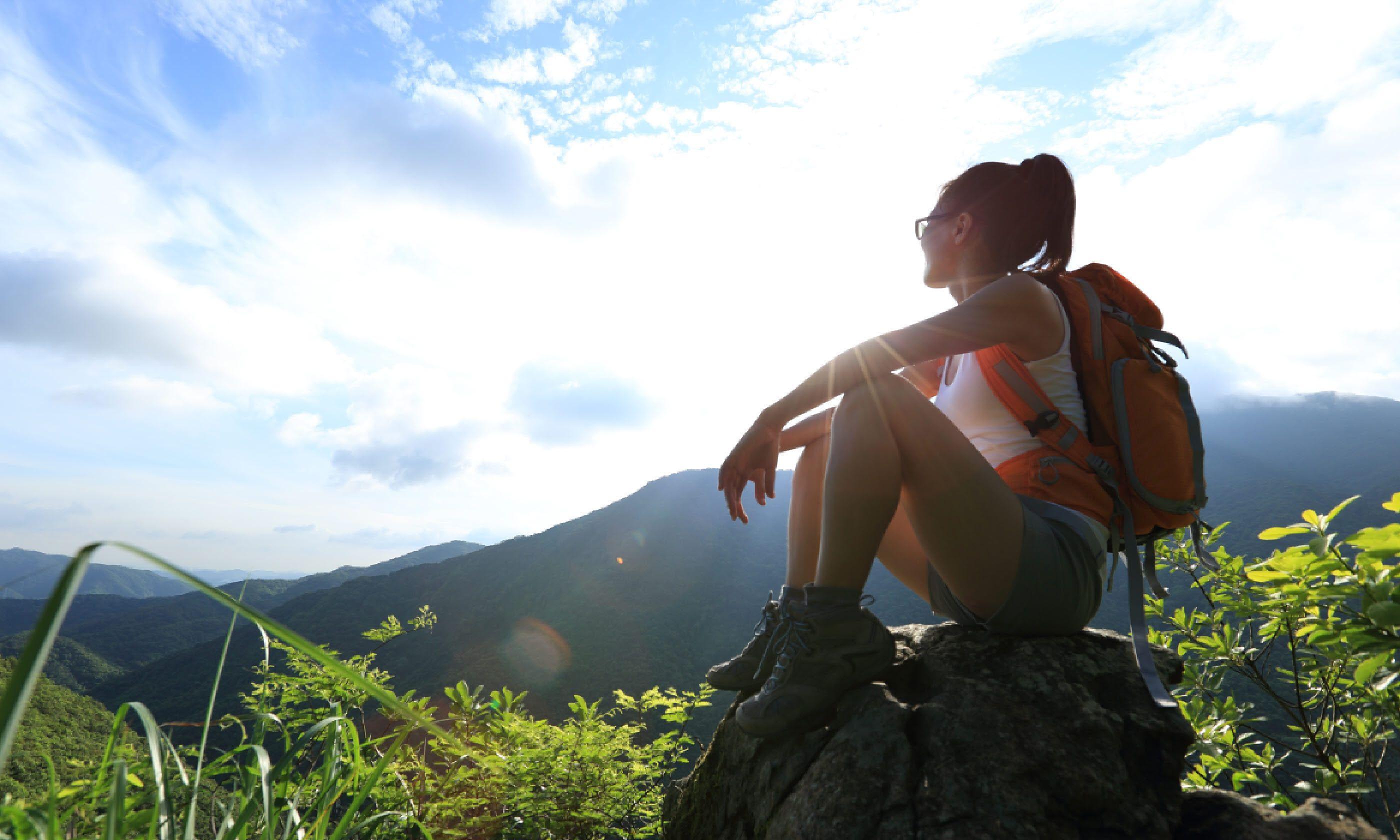 Female backpacker (Shutterstock)