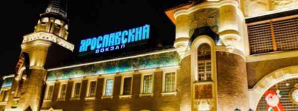 Down at Yaraslovsky Station at midnight (Matthew Woodward)