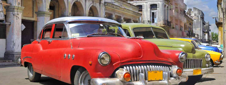 Classic cars on streets of Havana (Dreamstime)