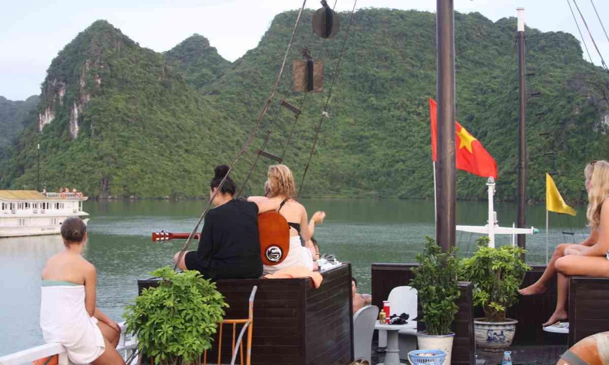 Halong Bay (supplied: James Rowland)