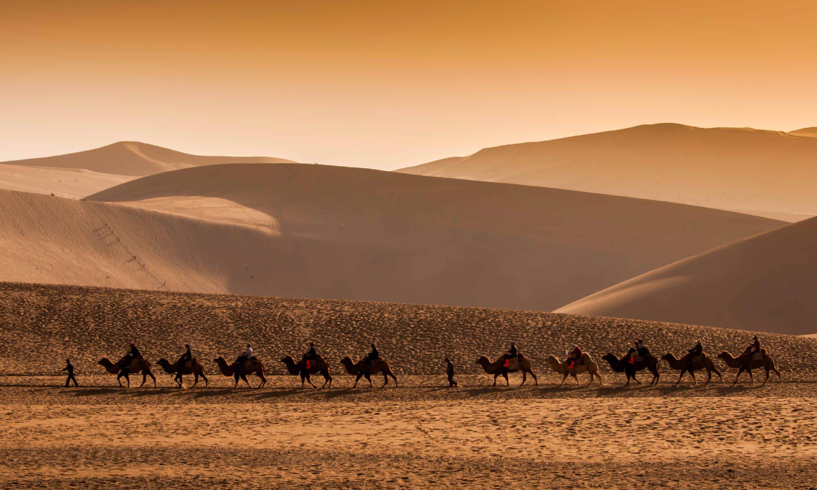 Dunhuang, China (Shutterstock)
