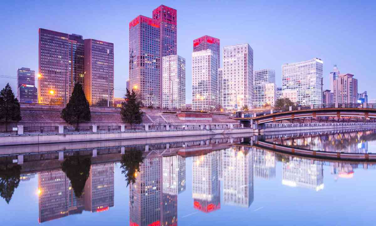 Skyscrapers of Beijing (Shutterstock)