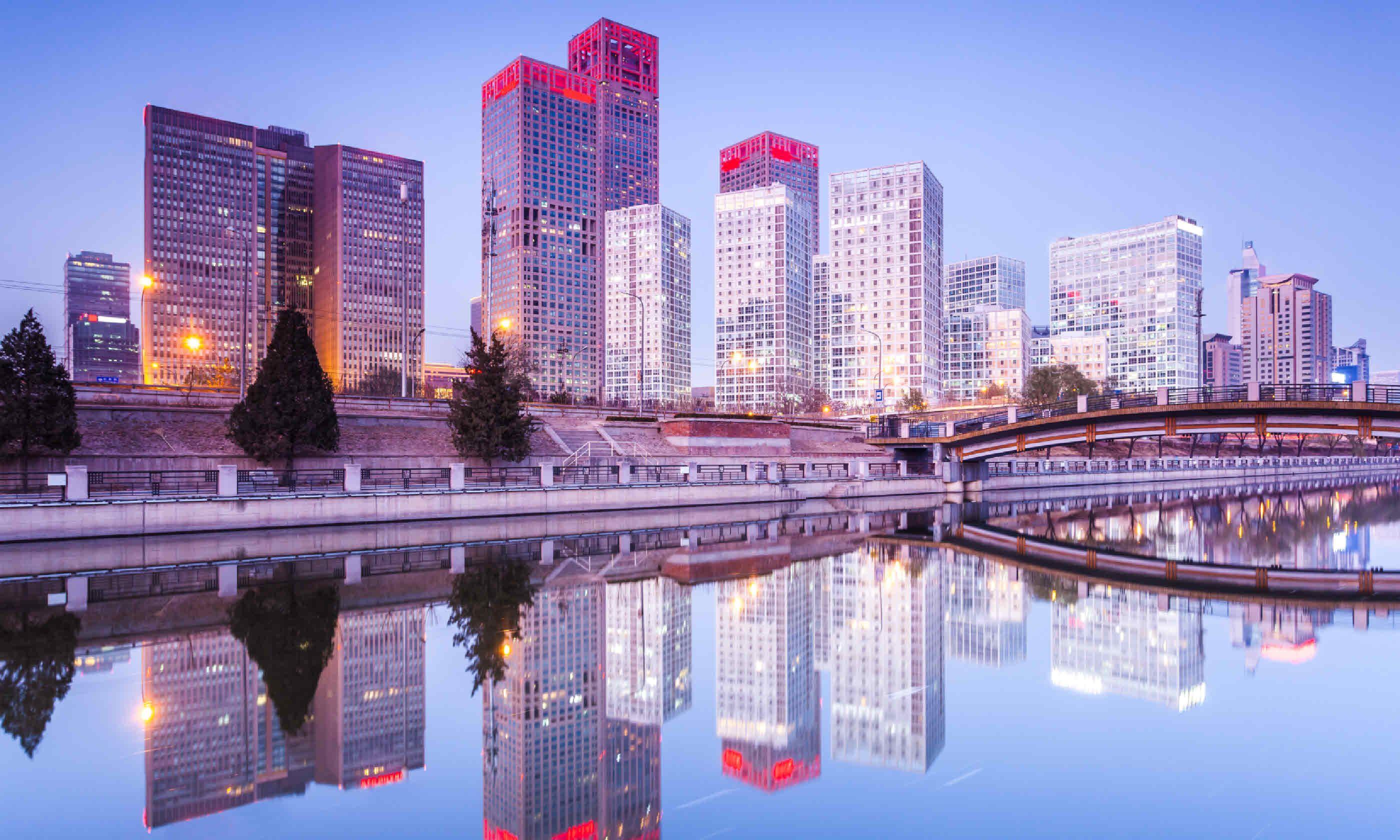 Skyscrapers of Beijing (Shutterstock)