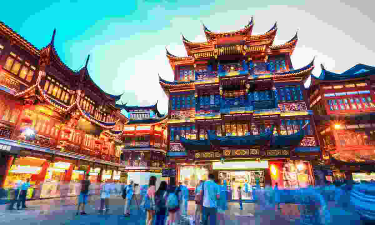Shanghai Yuyuan Garden. (Shutterstock)