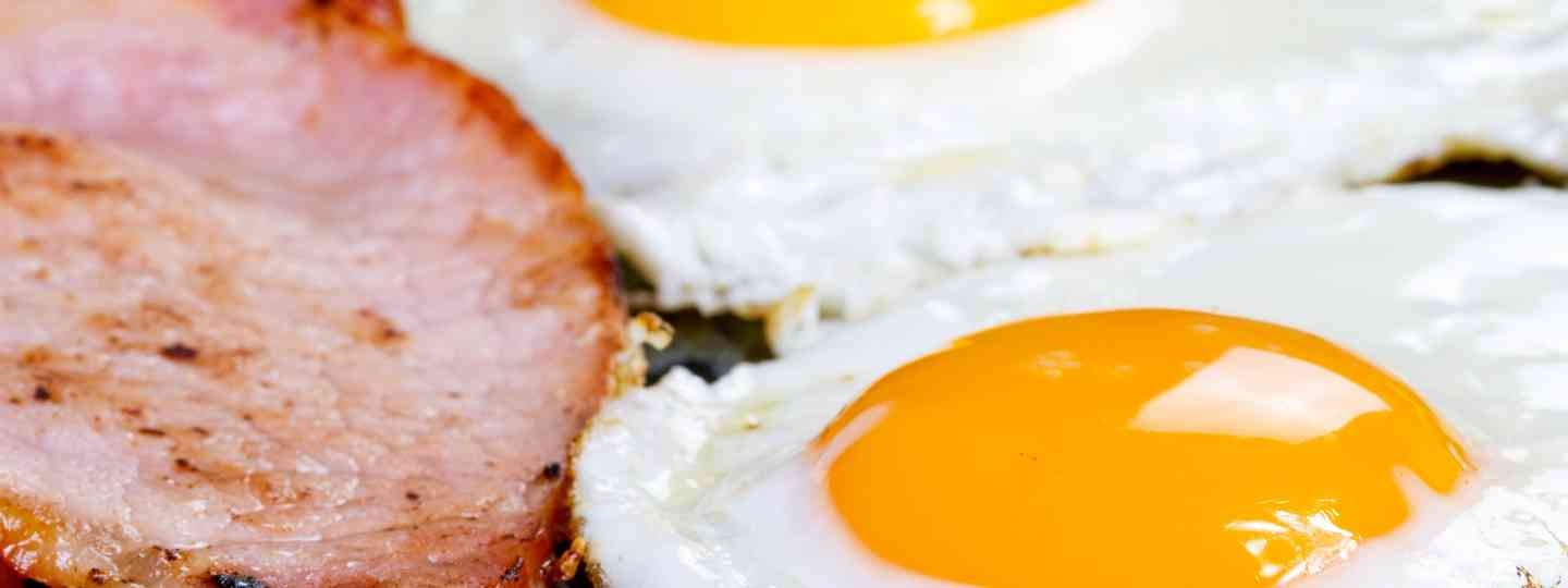 Fried eggs and bacon (Shutterstock.com. See main credit below)