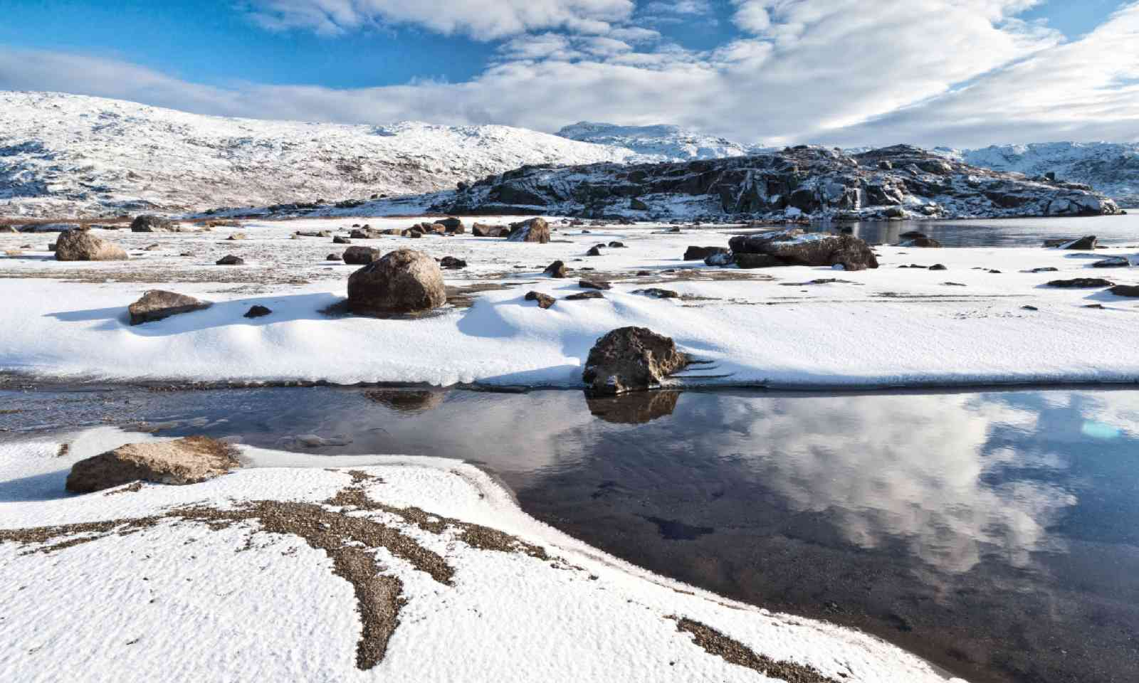 National park Abisko in winter (Shutterstock)