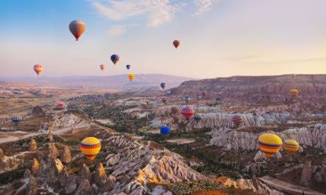 Balloons over Cappadocia (Wanderlust)