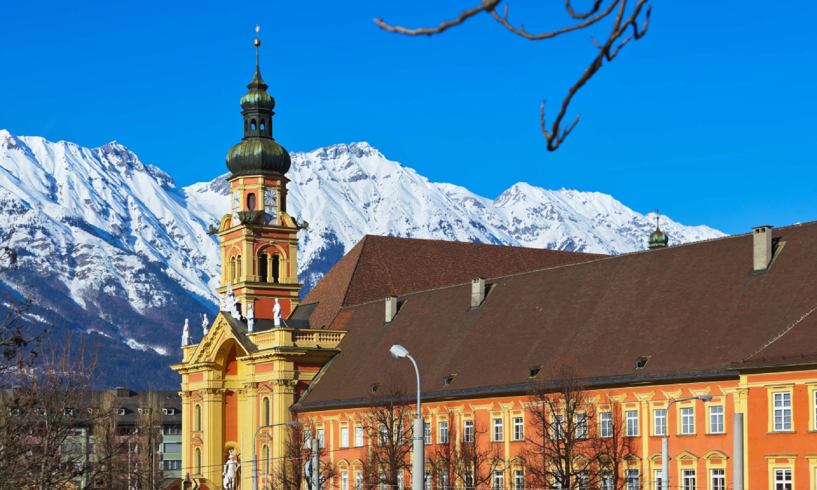 Old cathedral in Innsbruck Austria (Shutterstock)
