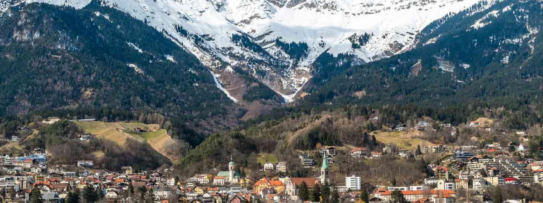 Panoramic of Innsbruck (Shutterstock: see credit below)