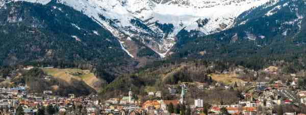 Panoramic of Innsbruck (Shutterstock: see credit below)