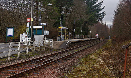 Tyndrum Station (70023venus2009 via Flickr)