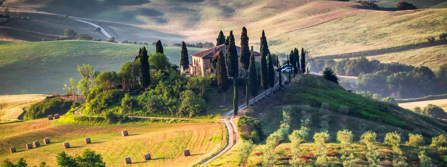 Tuscan landscape (Shutterstock.com. See main credit below)