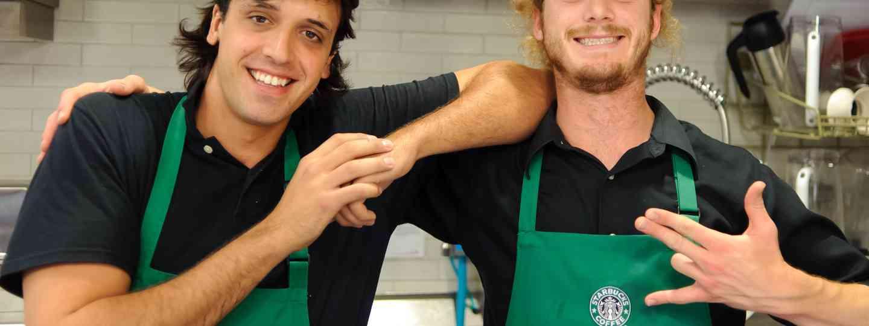 Friendly baristas in the USA (Shutterstock.com)